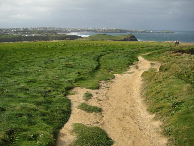 South West Coast Path at Whipsiderry