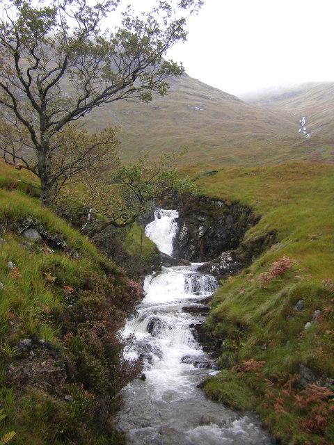 Waterfalls, Allt a' Chuil Mhaim, Glen Galmadale