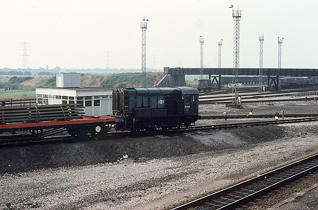 Shunting at Severn Tunnel Junction