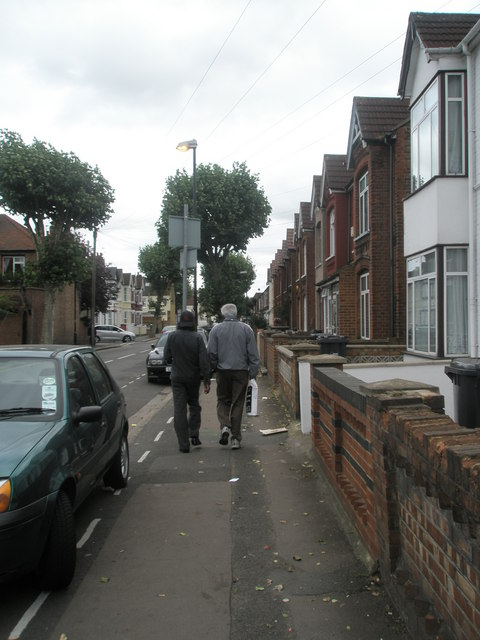 Pedestrians in Beaconsfield Road