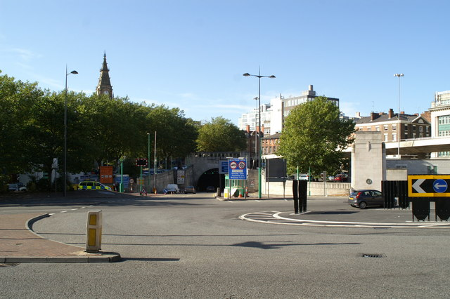 Mersey Tunnel entrance