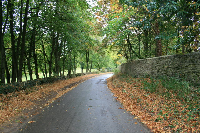 Road into Westwell