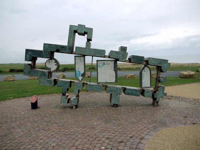Sculpture, Seaham Hall car park