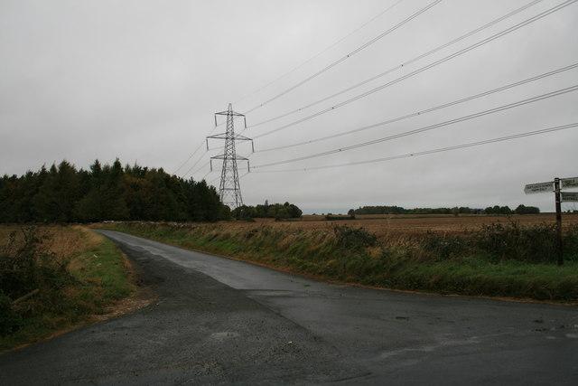 Road to Eastleach Downs Farm