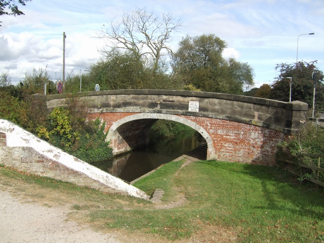 Trent and Mersey Canal - Bridge 42