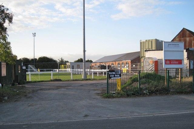 Racing Club entrance, Hampton Road, Warwick