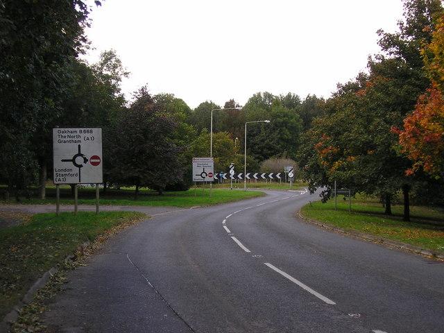 Clipsham Road, Stretton