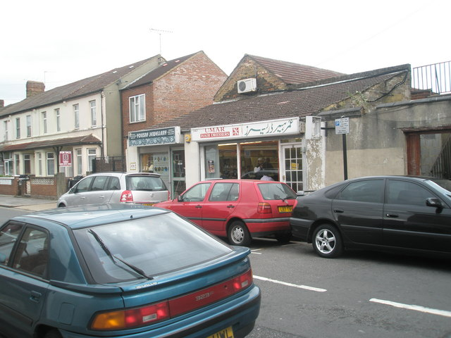 Shops in Abbotts Road