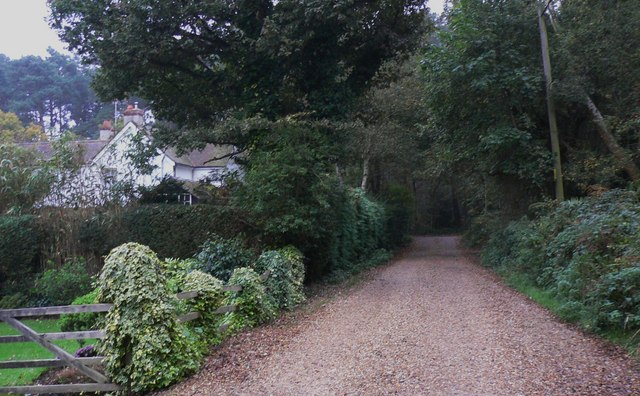 Bracken Lane looking towards Drift Road