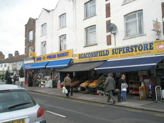 Shops in Beaconsfield Road