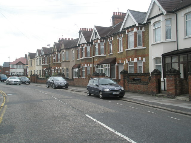 Terraced housing in Beaconsfield Road