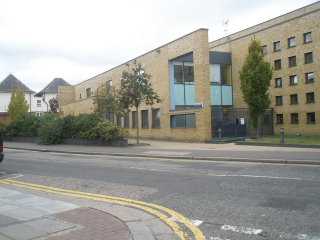 Auxiliary police station in Beaconsfield Road