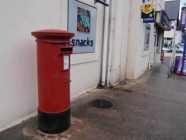 Pillar box, Lymington Road, Torquay