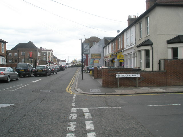 Junction of Beaconsfield and Randolph Roads