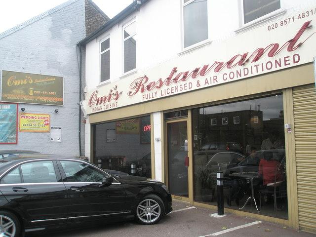 Restaurant in Beaconsfield Road