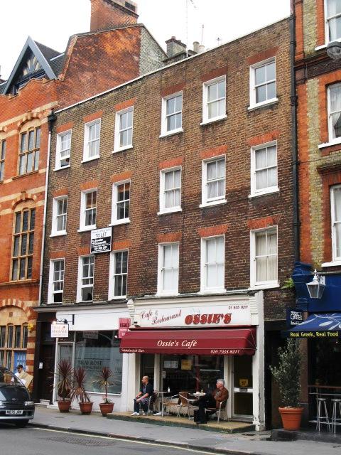 Ossie's Café, Paddington Street, W1