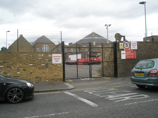Southall Delivery Office in Beaconsfield Road
