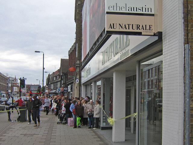 Ethel Austin Au Naturale - opening day