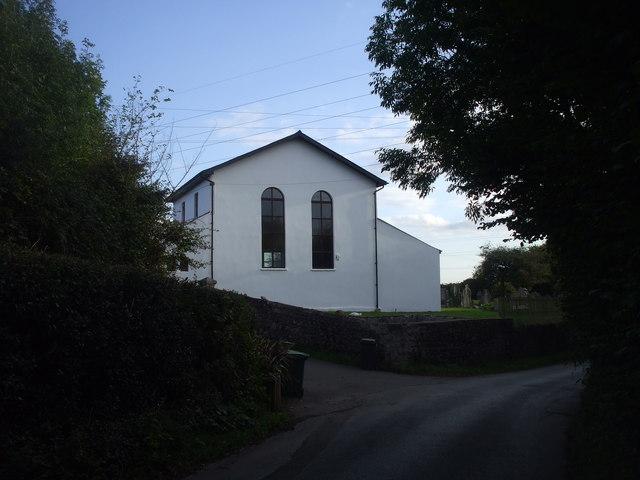 The former Lisvane Baptist Chapel