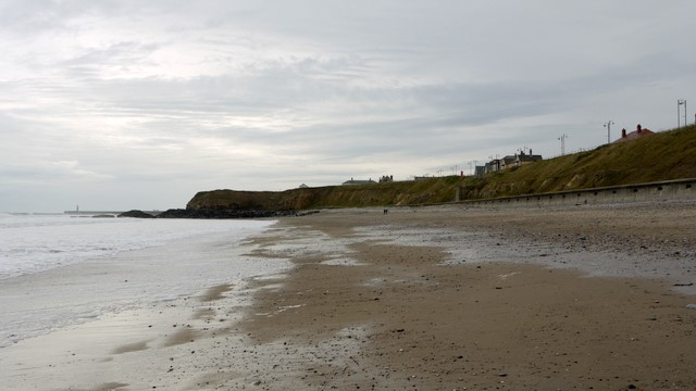 Seaham Beach - looking south