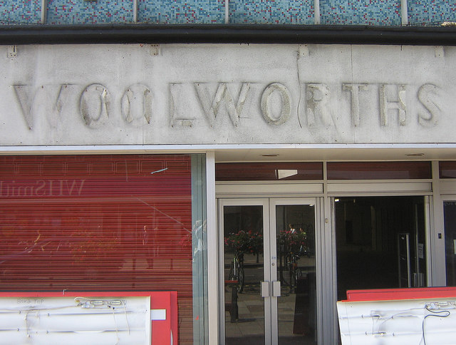 Old Woolworths signage