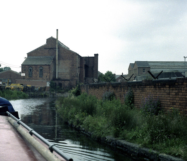 The industrial Coventry Canal