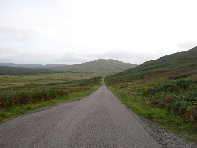 The road to Lochaline