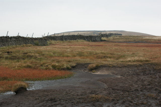 The last muddy stretch to Buckden Pike