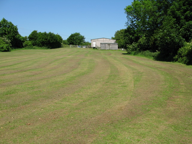 Field behind Eythorne village hall