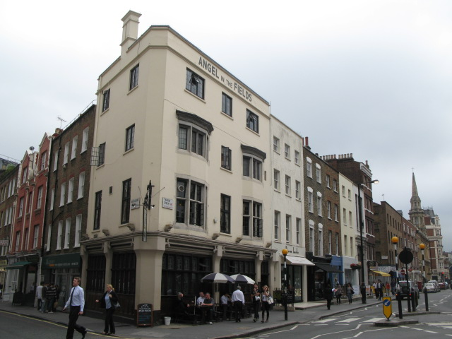 The Angel in the Fields, 37 Thayer Street, W1
