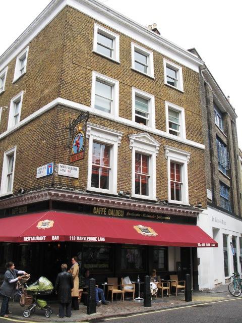 Caffè Caldesi, Marylebone Lane, W1