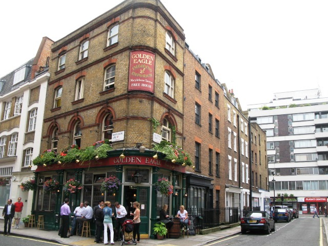 The Golden Eagle, Marylebone Lane / Bulstrode Street, W1