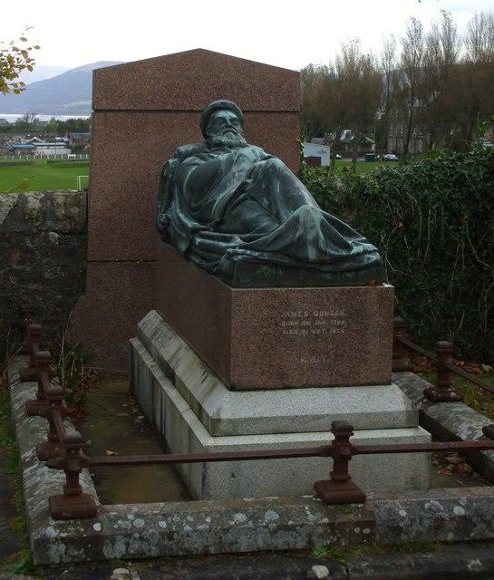 Impressive Grave Monument
