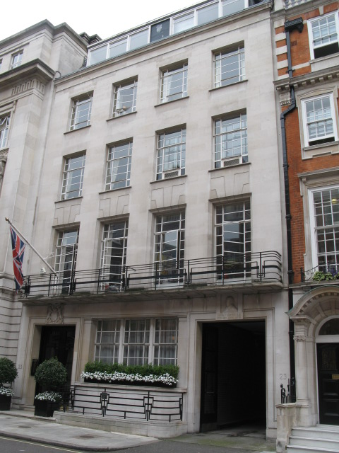 Building in Queen Anne Street, W1