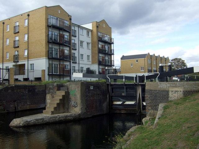 Johnson's lock on the Regent's Canal