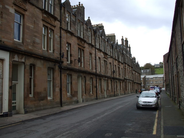 Fine Victorian Housing on Russell Street, Rothesay