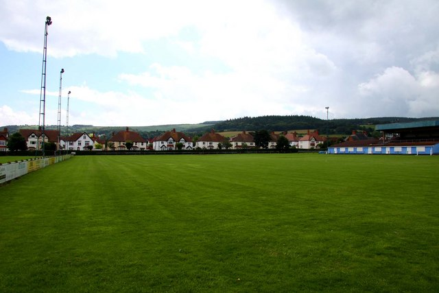 The Recreation Ground home of Minehead Town FC