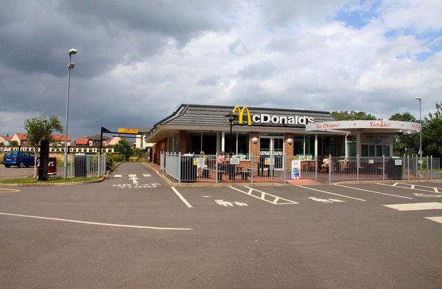 McDonald's restaurant in Minehead