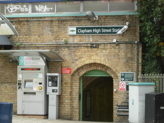 Clapham High Street Station