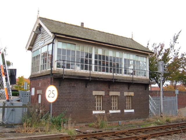 Signal Box, near Beverley Station