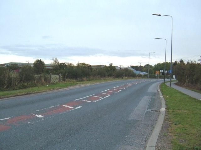 A1174 towards Hull