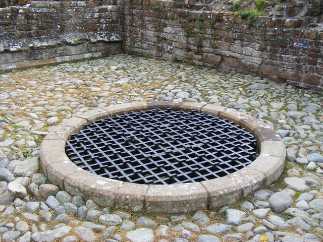The well at Brougham Castle