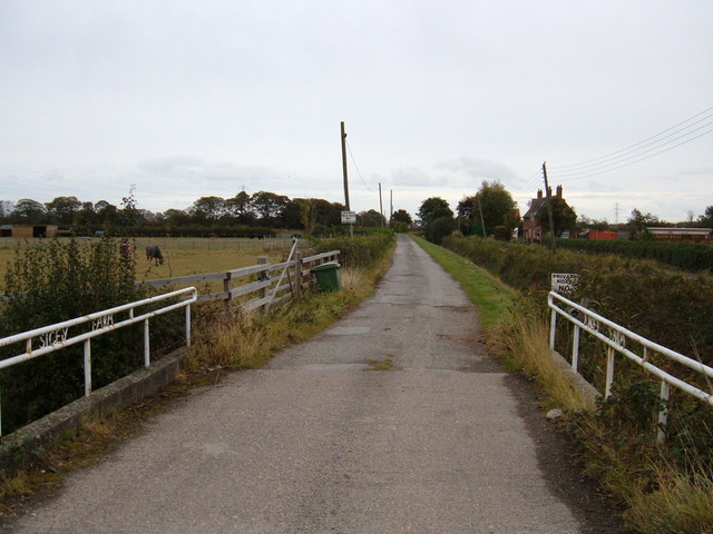 Track to  Sicey Farm
