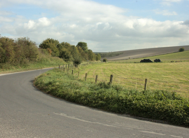 2009 : Hindon Road near Monkton Deverill