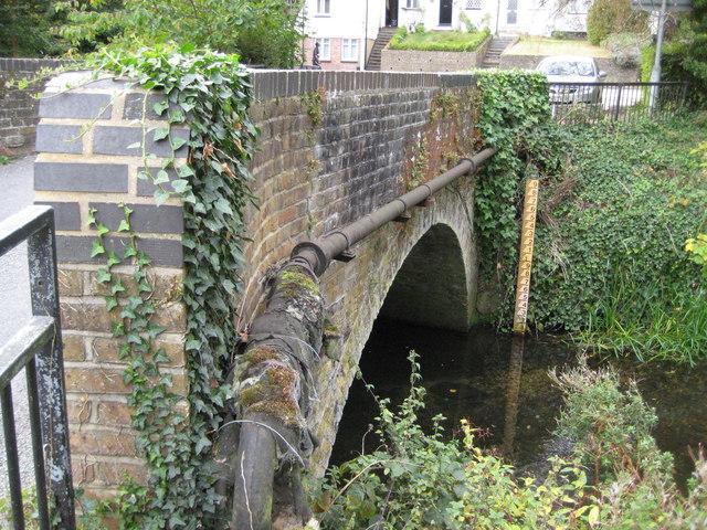 River Beane: Vicarage Lane bridge, Waterford