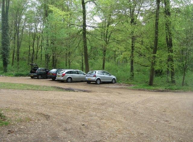 Woodland car park
