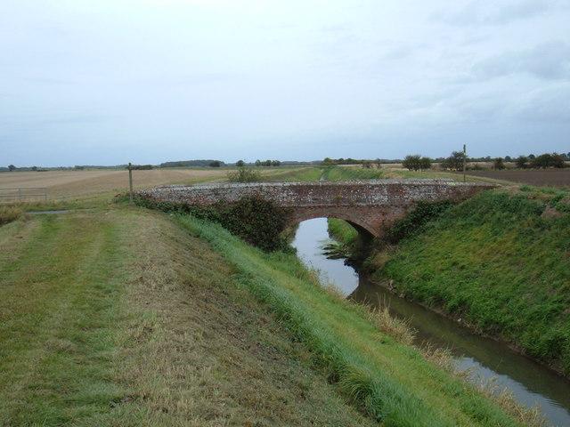 Bridge over Monkbridge Stream Drain