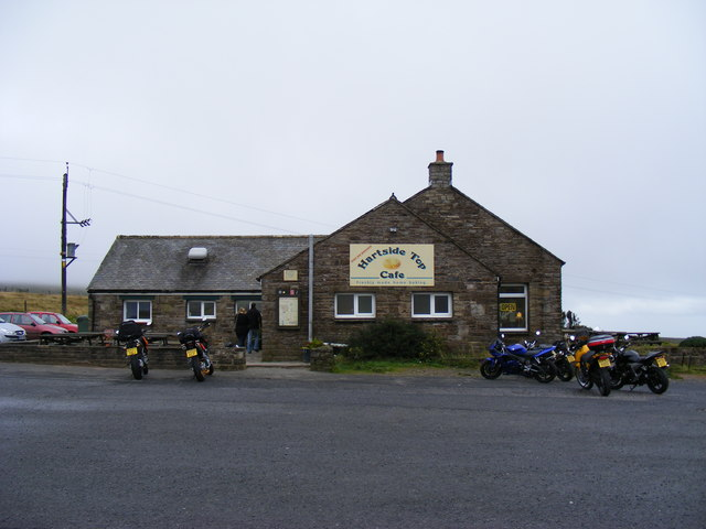 Hartside Top cafe