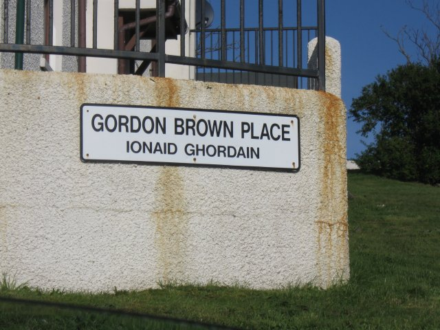 Gordon Brown Place, Mallaig