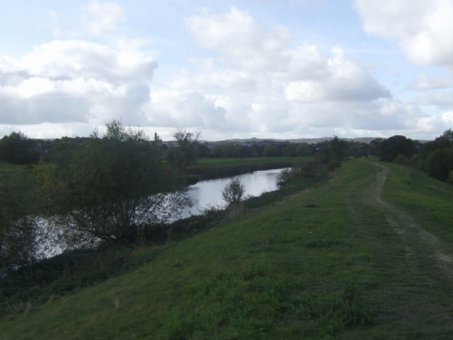 River Trent - upstream near Mavesyn Ridware